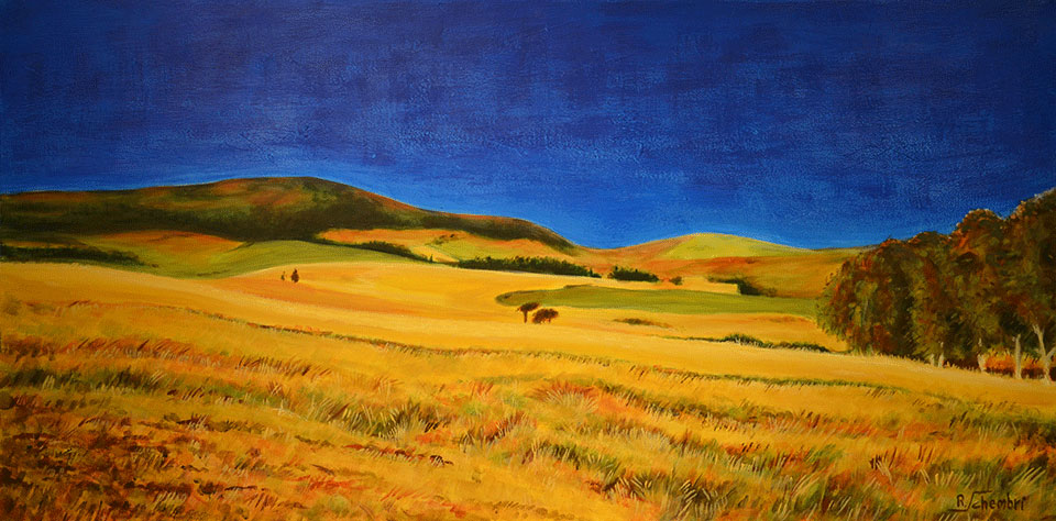 0310 - Campagna siciliana - 50x100x4 (Non disponibile)