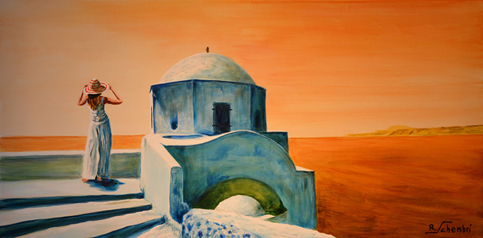 0900 - Santorini - 40x80 (Non disponibile)