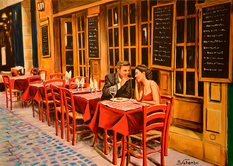 0980 - Bistrot - 50x70 (Non disponibile)