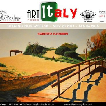 """ARTITALY"" 28 Nov 2014 – 6 Gen  2015  – Robbolino Art Gallery""  Naples (Florida – USA)"