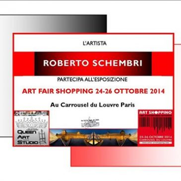 """ART FAIR SHOPPING"" 26-26 OTT 2014 – Au Carrousel du Louvre – Paris"