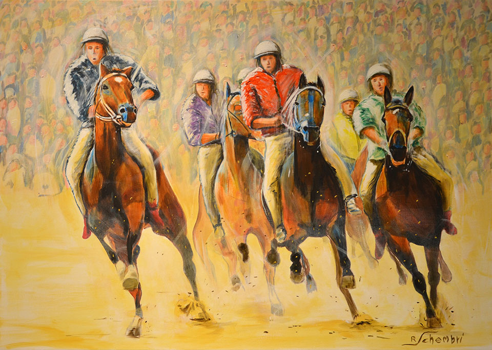 1560 - Palio - 50x70 (Non disponibile)